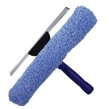 Double-Sided Window Squeegee + Washing Sleeve Combo